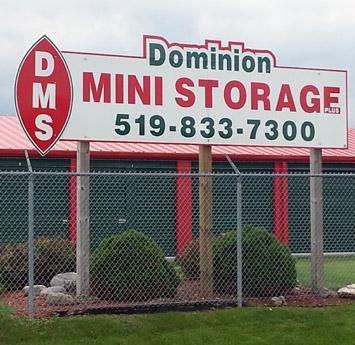 DOMINION MINI STORAGE PLUS INC.